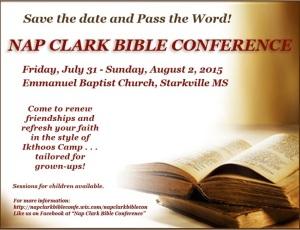Nap Clark Bible Study